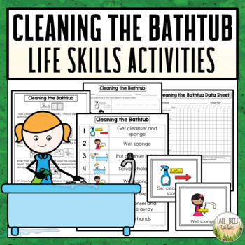 Cleaning the Bathtub Life Skills Activities