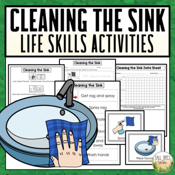 Cleaning the Sink Life Skills Activities