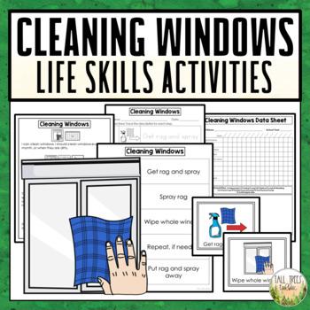 Cleaning Windows Life Skills Activities