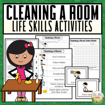 Cleaning a Room Life Skills Cleaning Activities