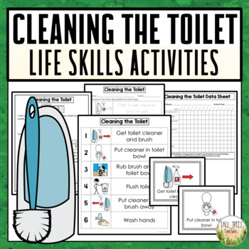 Cleaning the Toilet Life Skills Activities