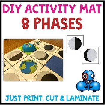 Phases of the Moon Robot Activity