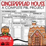Christmas Project Based Learning | Design a Gingerbread House Christmas PBL