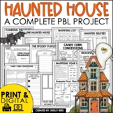Design a Haunted House Project Based Learning | Halloween Activities and Math