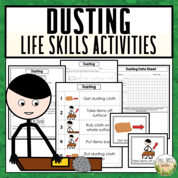 Dusting Life Skills Cleaning Activities