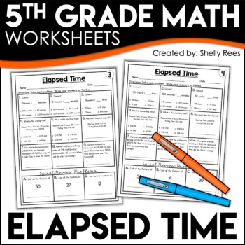 Elapsed Time Worksheets