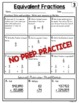 Equivalent Fractions Worksheets | 5th Grade Math Homework