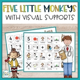 Five Little Monkeys, Visual Song for Autism