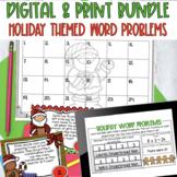 Holiday Multiplication/Division Word Problem Bundle