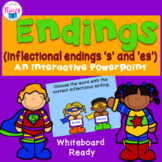 Inflectional Endings/Suffixes S/ES Interactive PowerPoint
