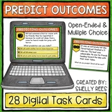 Making Predictions Digital Task Cards - Google Version