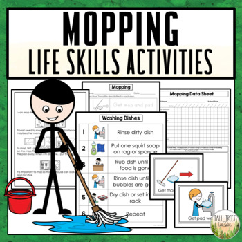 Mopping Life Skills Cleaning Activities