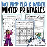 NO PREP Winter Activities - 3rd Grade