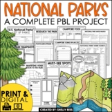 National Parks Research Project Based Learning