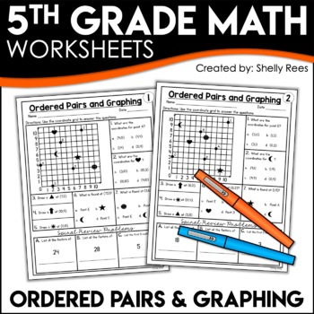 Ordered Pairs Worksheets