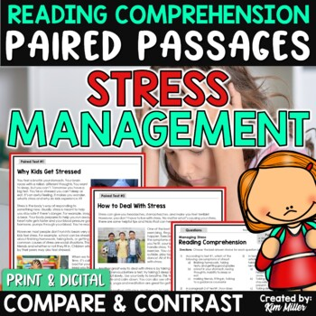Paired Texts | Paired Passages Managing Stress