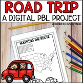 Plan a Vacation DIGITAL Project Based Learning | Distance