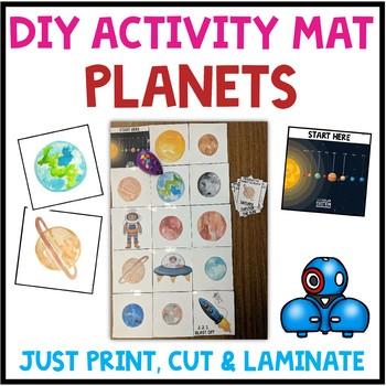 Robot Activity Mat Planets