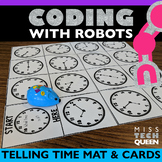 Robot Activity Mat Telling Time