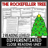 Rockefeller Tree Reading Passage and Worksheets | Christmas Reading Passage