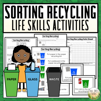 Sorting Recycling Life Skills Cleaning Activities