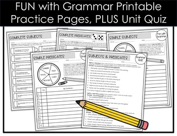 Subjects and Predicates Grow with Grammar Unit