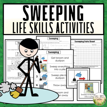 Sweeping Life Skills Cleaning Activities