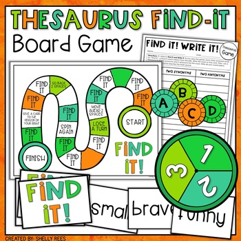Synonyms And Antonyms Board Game & Worksheets | Teachers Pay
