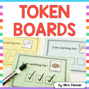 Token Boards for Positive Reinforcement