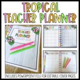 Tropical Teacher Planner