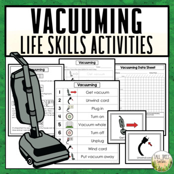 Vacuuming Life Skills Cleaning Activities