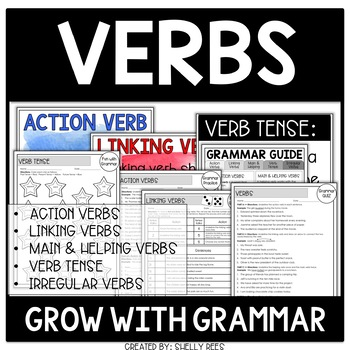 Verbs | Irregular Verbs | Verb Tense Grow with Grammar Unit