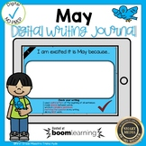 Boom Cards May Writing Journal