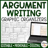Opinion Writing Graphic Organizers | Argumentative Writing
