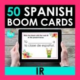 IR Spanish BOOM CARDS | Digital Task Cards | Distance Learning