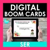 SER Spanish BOOM CARDS | Digital Task Cards | Distance Learning