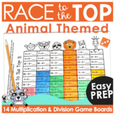 Math Games | Multiplication and Division Race to the Top