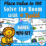 Place Value Within 100 - first Grade - Solve the Room with