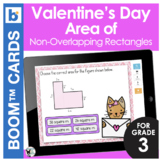 Valentine's Day Boom Cards | Area of Non-Overlapping Rectangles
