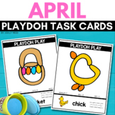 EASTER Playdoh Mats for APRIL