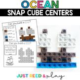 OCEAN THEMED Snap Cube Math Centers