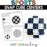 SPORTS  Snap Cube Math Centers