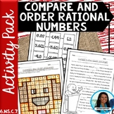 Compare and Order Rational Numbers Activity Pack 6.NS.C.7