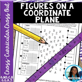 1/2 PRICE FOR 24 HRS Figures on a Coordinate Plane Cross-Curricular Cross Out
