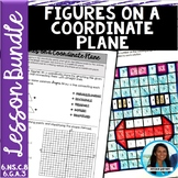 Figures on a Coordinate Plane Lesson Bundle