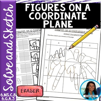 1/2 PRICE FOR 24 HRS Figures on a Coordinate Plane Solve and Sketch