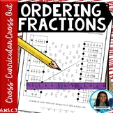 Ordering Fractions Cross Curricular Cross Out Activity