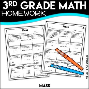 Mass 3rd Grade Worksheets
