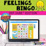 Distance Learning Feelings and Emotions Bingo Dot Dudes Bo