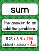 Go Math 5th Grade Vocabulary for the Year